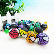 China Cheap 32mm small rubber animal bouncy ball black soft bouncy ball