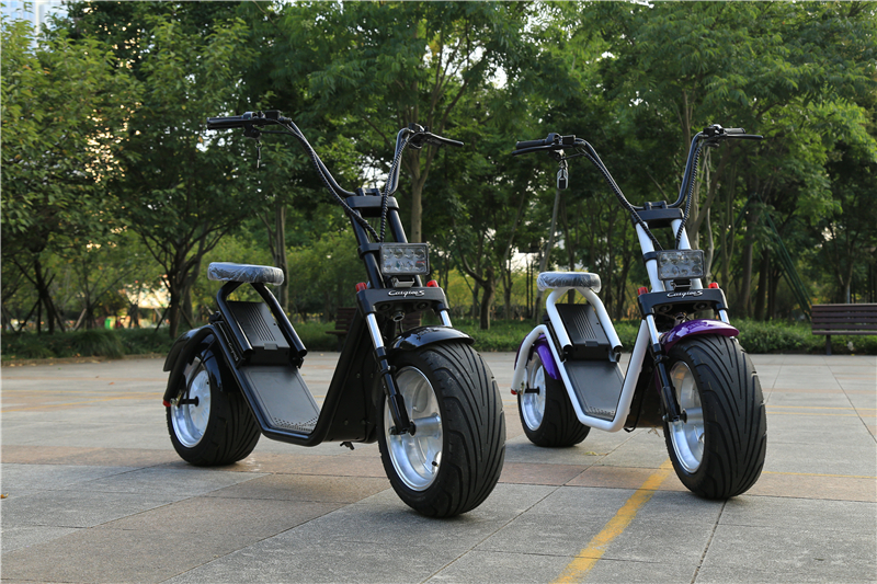 City Bike 1200W Brushless Adult Electric Scooter 2 Wheels Electric Motorcycle 2016 hot citycoco