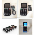 Old Man Big Sound 3G WCDMA Senior Mobile cell phone with big fonts color screen