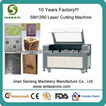 hobby wood laser cutting machine