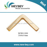 Metal cardboard corners protective in brass color BC803