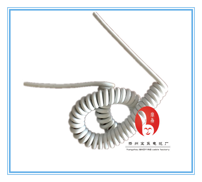 PUR jacket multi-conductor toyota spiral cable