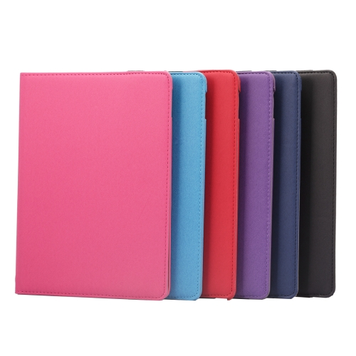 360 Degrees Rotation Cloth Texture Horizontal Flip Leather Case with Holder & Card Slots & Wake-up / Sleep Function for iPad Pro