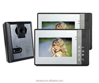 1 Camera 2 Monitors Home Security System/ Video Door Phone/ Intercom System for Multi Apartment
