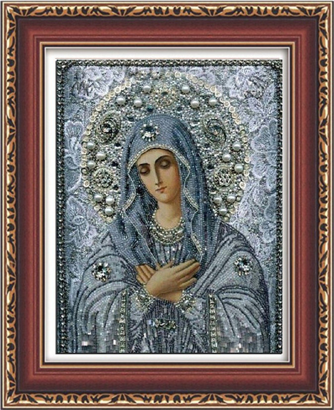 30x40cm Christian 5D DIY Painting By Numbers Pictures of Crystals Embroidery With Diamonds For Beadwork Wall Decoration