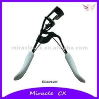 Black coating plastic handle eyelash curler