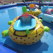 commercial large adult motor inflatable bumper boat for sale