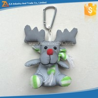 New Products Reflective Handcraft Voodoo Doll Keychain Keyring Toy Cartoon JAPAN String Rope