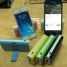 popular mobile phone power bank with rotating Supporting Power Pack