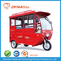 2016 Hot Sale Cargo / Passenger 3 Wheel Electrice Motor tricycle ZF350DQZK-A electric tricycle