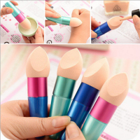 cosmetics beauty long handle powder puff makeup sponge