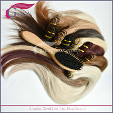 Professional Top Quality Wooden Boar Bristle Hair Brush For Salon