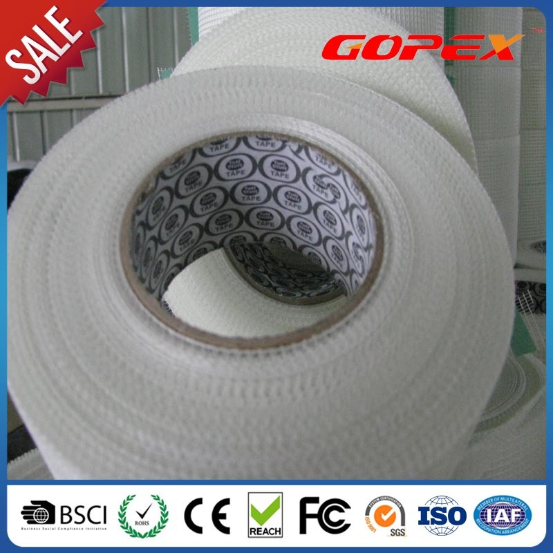 Gypsum board fiberglass drywall joint mesh tape