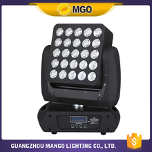 Unlimited Pan Tilt Moving Head RGBW 4-in-1Dot Matrix Led Moving Head Disco Light