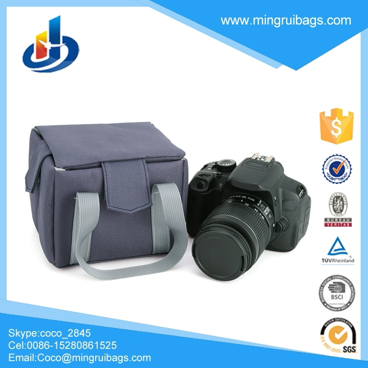 Camera Inner Bag, Shockproof Partition Padded DSLR Camera Insert Bag Camera Inner Case For Nikon Canon Pentax Fuji Olympus