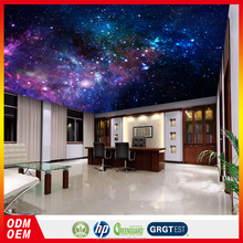 ceiling wallpaper mural 3d beautiful sight starry sky wallpaper for ceiling decoration