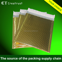 Custom Made Printed Waterproof and Shockproof Shiny Metallic Bubble Mailers