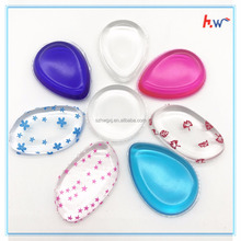 Hot selling soft silicone makeup sponge puff powder blender