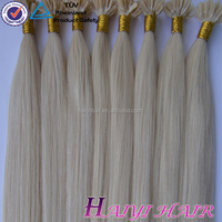 Alibaba Trade Assurance China Factory Wholesale grade aaaa russian remy u tip human hair extension