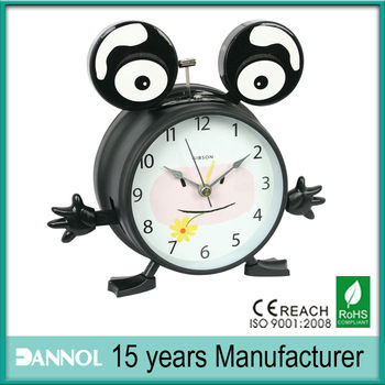 frog shape kids room clock talking clock
