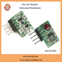 Cheap wireless Receiver Module,315/433MHz,Mini wireless rf receiver, for secondary produce. (ZF-4)