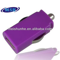 Mini USB Car Charger for Samsung Galaxy S4 with CE RoHS FCC