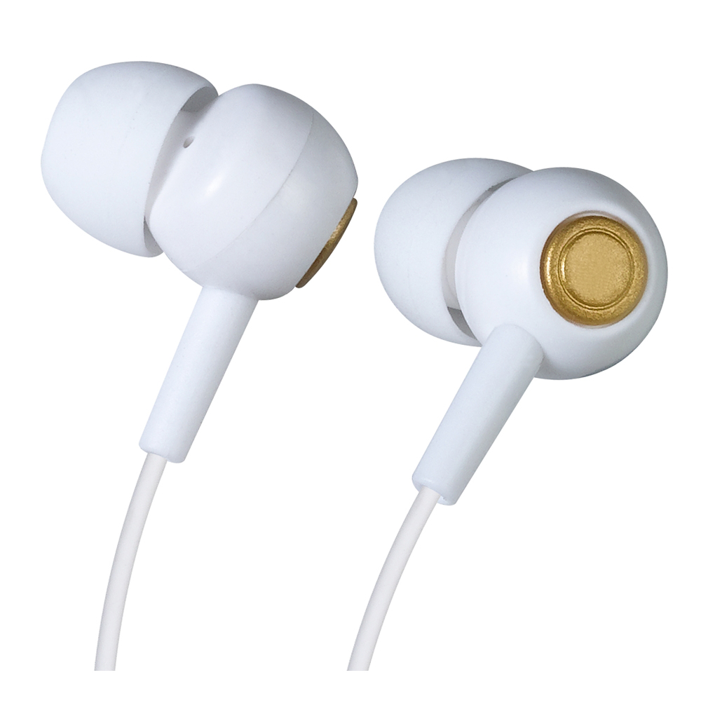 In Stock, Mini Ultra- Small Wired Sport Earphone For Game MP3 With Free Accessories (White)