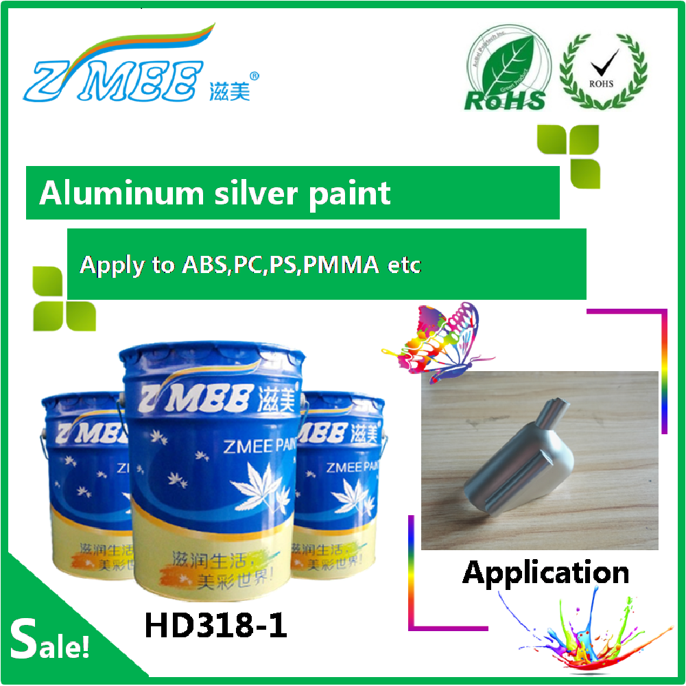 HD318-1 Aluminum silver paint /liquid silver paint/sterling varnish