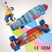 "22"" custom plastic cruiser boards for extreme sports"