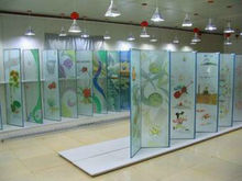 glass art for living and dinning room decoration