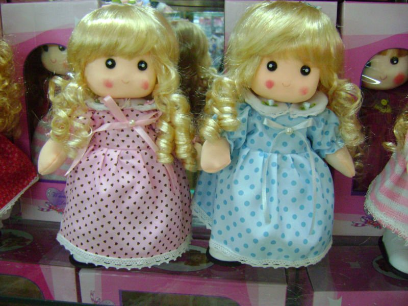 Farcito peluche amore bambola di stoffa cartone animato