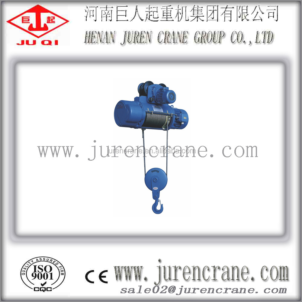 Electric Power Source and INDUSTRIAL Usage electric wire rope hoist 7t
