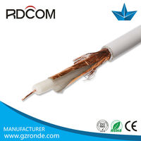 coaxial cable rg6 rg11 rg59 rg58 rg213 coaxial cable 1 5/8 rf coaxial cable