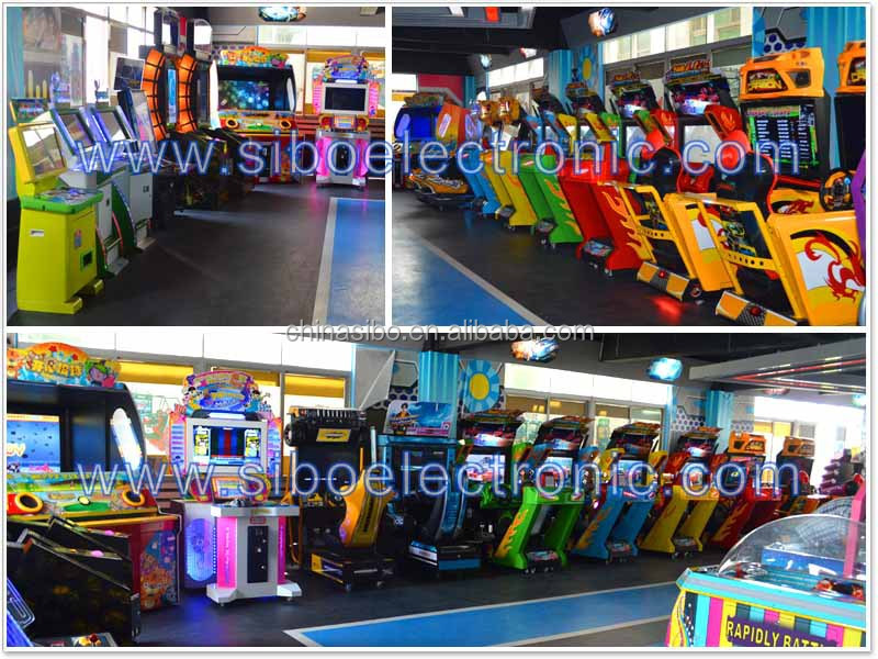 2016 sibo electronic high quality new racing game machine driving car simulator for sale