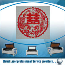 Laser cutting and engraving for leather, cloth, wood,double heads laser cutter,Wool Rug Cutting Machine