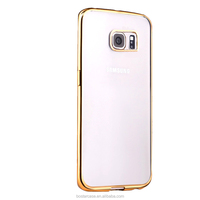 Alibaba express Wholesale Top quality Ultra Thin Electroplating TPU Case for Samsung Galaxy S7/S7edge from Dongguang