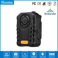 Reggued Design One-button Recording Night Vision Password Protection 1296P Super HD Rugged Design Body Worn Video Camera