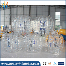 Human inflatable bumper bubble ball, inflatable bumper ball for sport game