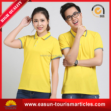 custom 100% cotton women polo t-shirt