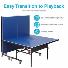 Standard size Compact Table Tennis Table Great for Small Spaces and Apartments