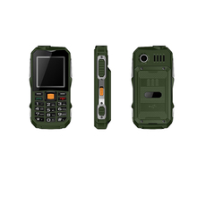Amanki Factory 2.4 inch Rugged Cell Phone Multi Languages Big Battery Waterproof Mobile Phone Rugged