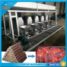 Energy saving small wood sawdust briquetting charcoal machine for biomass material