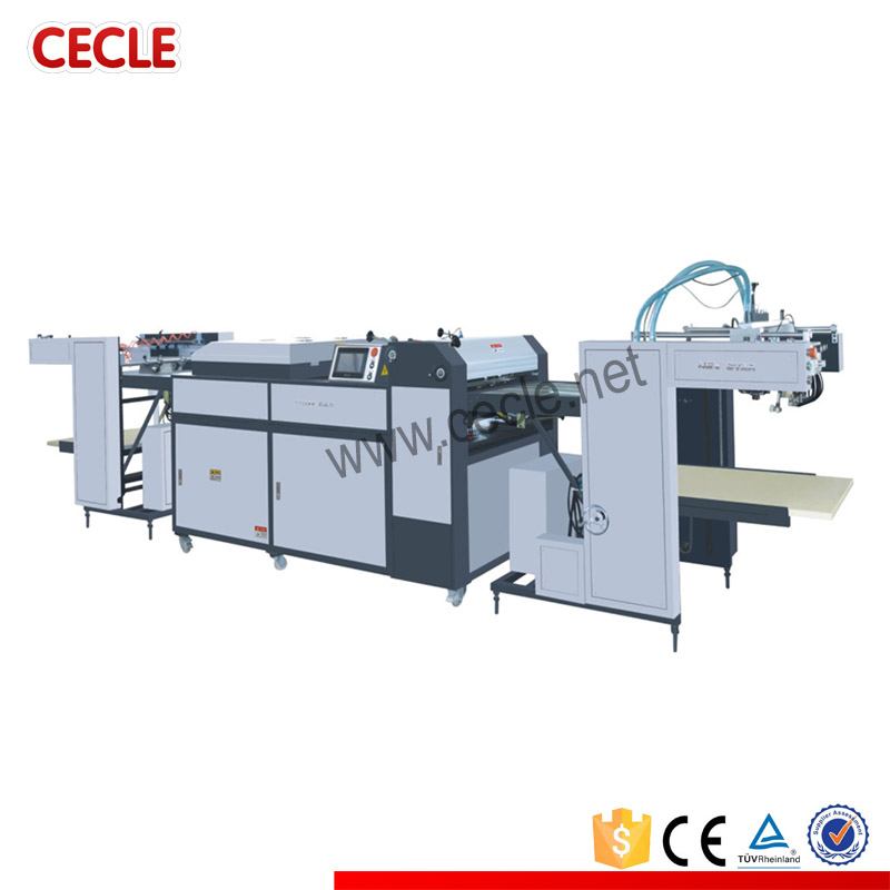 Automatic latex coating machine