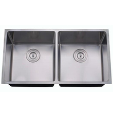 stainless double bowl kitchen sink