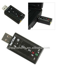 USB 7.1 Channel Virtual Audio Sound Card