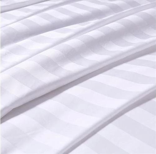T/C satin stripe fabric for hotel,home