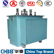 100% guaranteed no leakage 22KV to 400V S9-M-1000KVA oil immersed power transformer