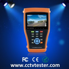 New 4.3 inch touch screen IP camera tester for TVI CVI AHD SDI camera testing