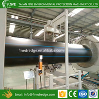 puddle PE pipe with flange