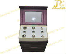 dermabrasion machine with 9 diamond dermabrasion tips and 3 wands